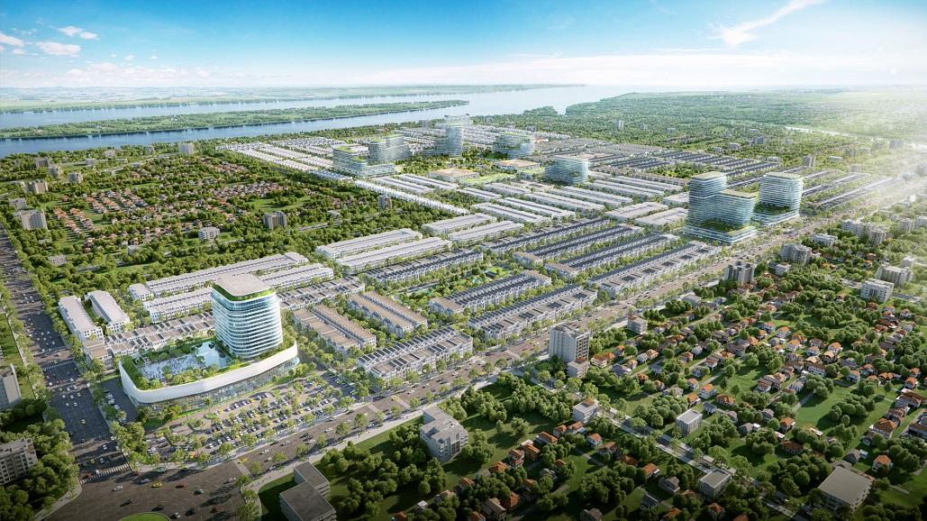 Stella Mega City Cần Thơ | Dự án đất nền sổ đỏ từng nền